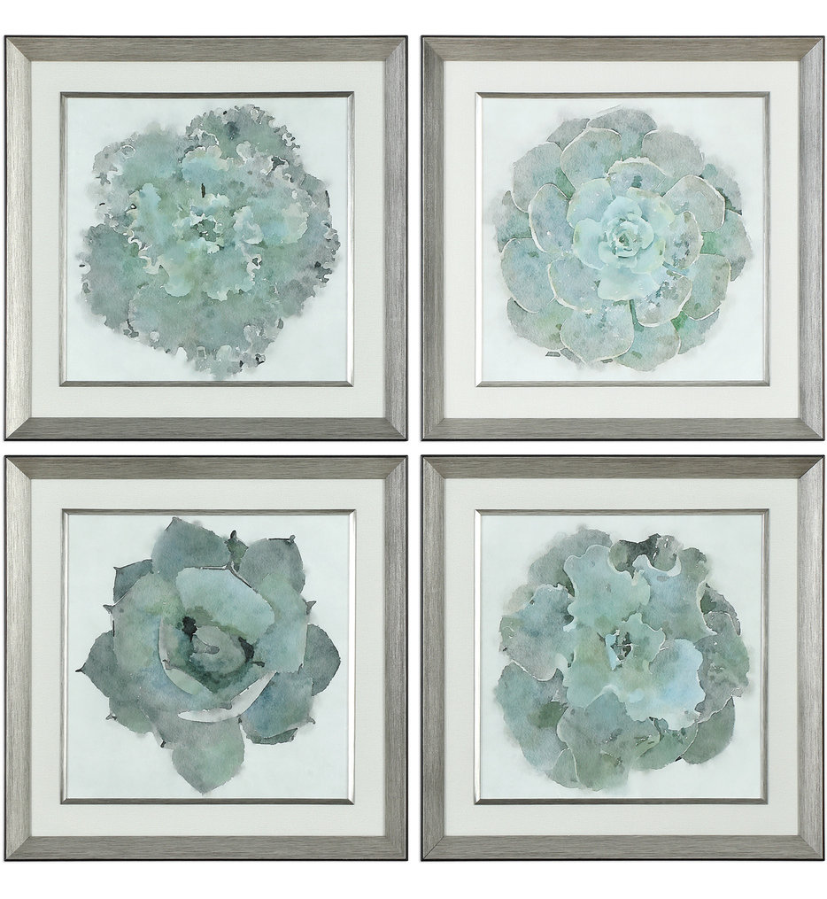 Uttermost - 33679 - Uttermost Natural Beauties Botanical Prints (Set of 4)