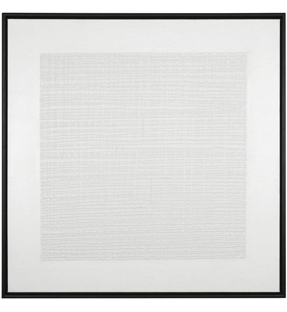 Uttermost - 35116 - Uttermost Gridlock Textured Print