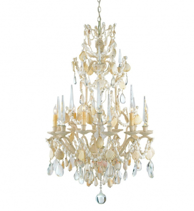 Currey & Company - 9162 - Buttermere Small Chandelier