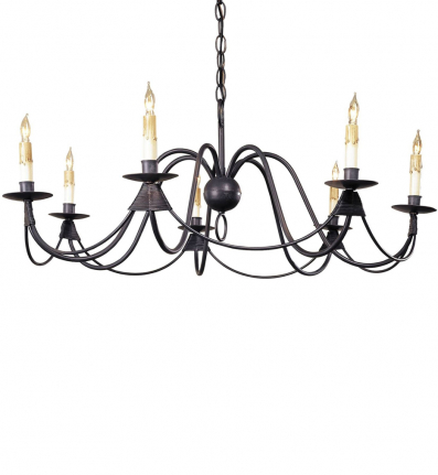 Currey & Company - 9500 - French Nouveau 7 Light Chandelier