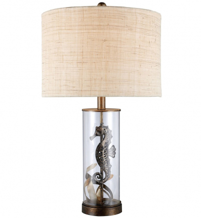 Dimond D1980 Bronze and Clear Glass Largo Table Lamp