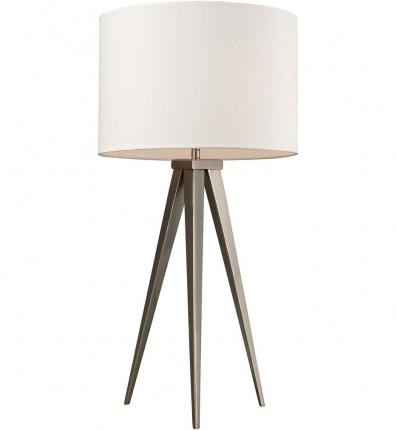 Dimond D2122 Satin Nickel Salford Table Lamp