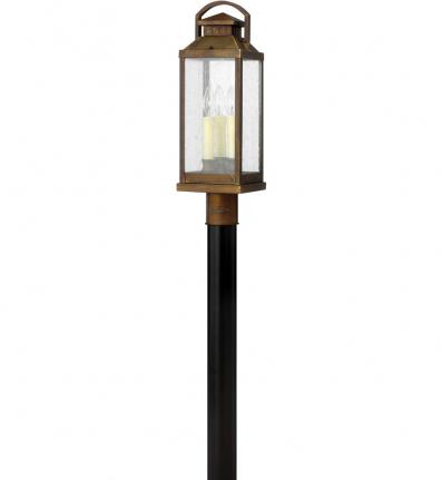 Hinkley Lighting - 1181SN - Revere Sienna Outdoor Post Light