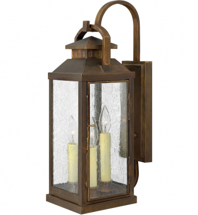 Hinkley Lighting - 1185SN - Revere Sienna Large Outdoor Wall Sconce