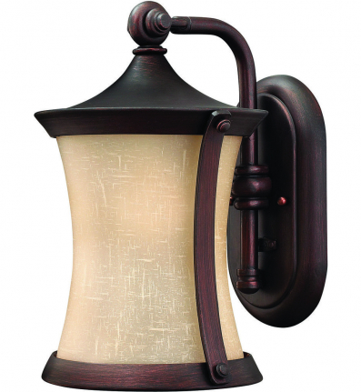 Hinkley Lighting - 1280VZ - Thistledown Victorian Bronze Small Outdoor Wall Sconce