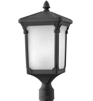Hinkley Lighting - 1351MB - Stratford Museum Black Incandescent Outdoor Post Light