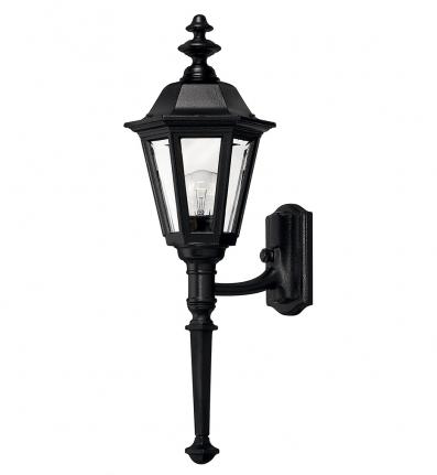 Hinkley Lighting - 1410BK - Manor House Black Medium Outdoor Wall Sconce