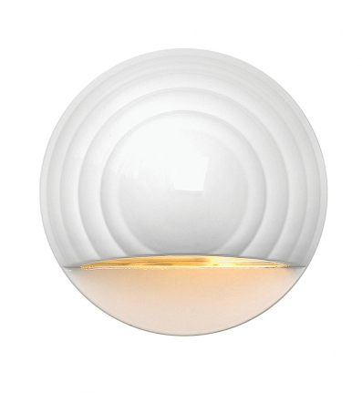 Hinkley Lighting - 1549MW - White Round Low Voltage Deck Light
