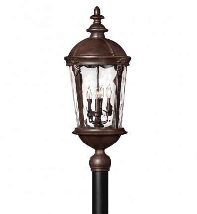 Hinkley Lighting - 1891RK - Windsor River Rock Outdoor Post Light