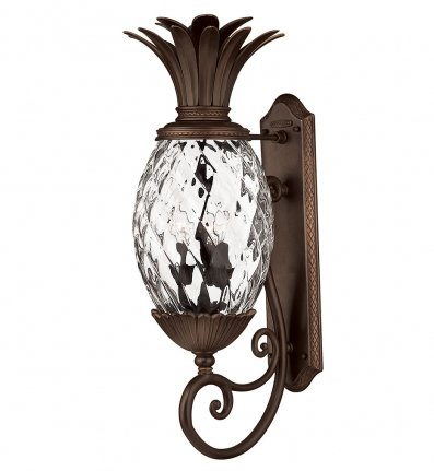 Hinkley Lighting - 2224CB - Plantation Copper Bronze Large Outdoor Wall Sconce
