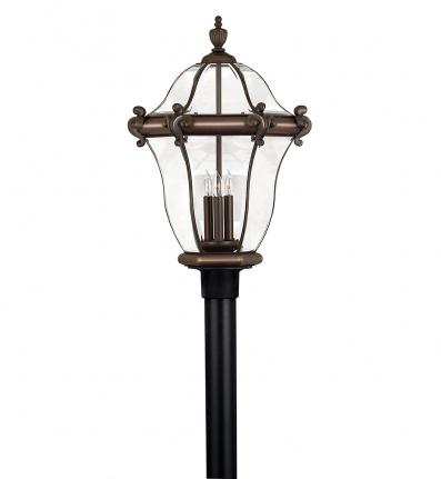 Hinkley Lighting - 2447CB - San Clemente Copper Bronze Extra Large Outdoor Post Light