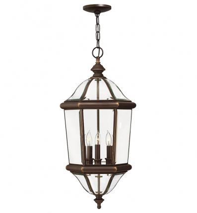 Hinkley Lighting - 2452CB - Augusta Copper Bronze Outdoor Pendant