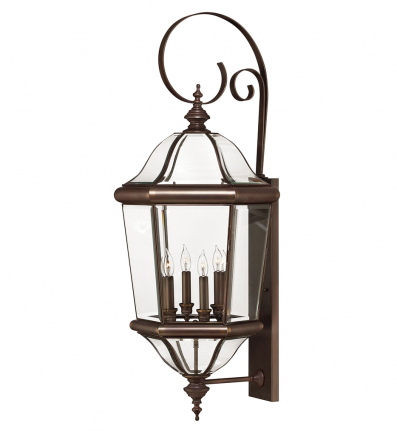 Hinkley Lighting - 2456CB - Augusta Copper Bronze Extra Extra Large Outdoor Wall Sconce