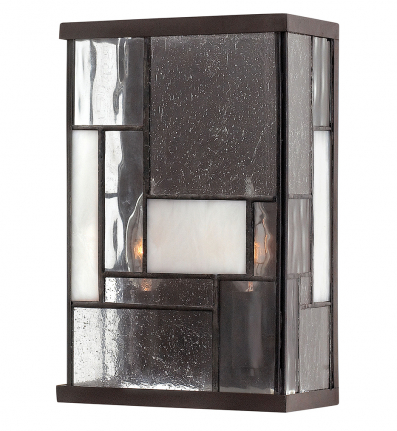 Hinkley Lighting - 4570KZ - Mondrian Buckeye Bronze 2 Light Wall Sconce