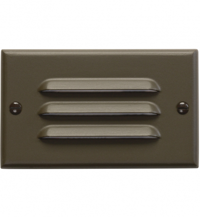 Kichler - LED Step Light Horizontal Louver