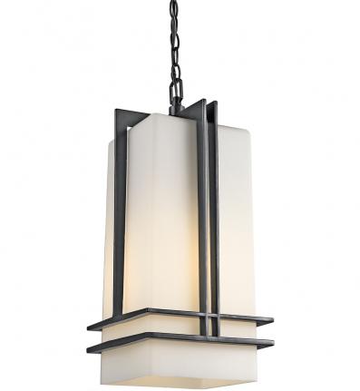 Kichler - Tremillo 1 Light Fluorescent Painted Outdoor Hanging Pendant
