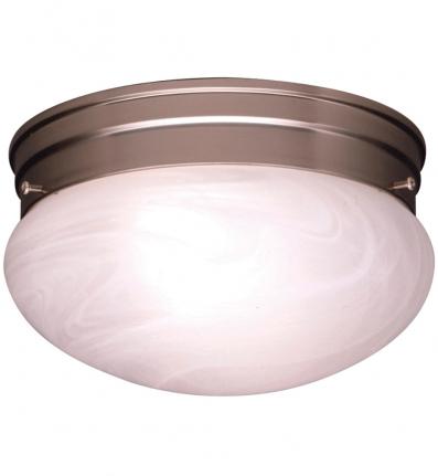 Kichler - 8209NI - Ceiling Space 2 Light Brushed Nickel Flush Mount Light