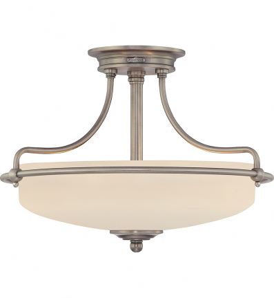 Quoizel - Griffin Small Semi-Flush Mount