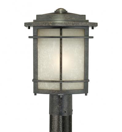 Quoizel - GLN9010IB - Galen Imperial Bronze Outdoor Post Light