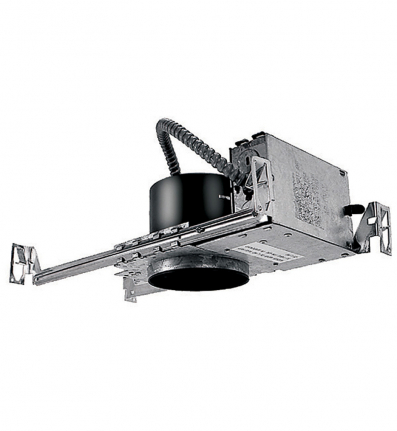 WAC Lighting HR-8402E Recessed Low Voltage New Construction Housing with Electronic Transformer