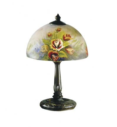 Dale Tiffany - 10057/610 - Rose Dome Table Lamp