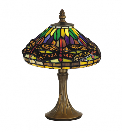 dale tiffany 7601 521 dragonfly table lamp. Black Bedroom Furniture Sets. Home Design Ideas