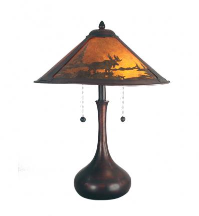 Dale Tiffany - TT80484 - Wilderness Table Lamp