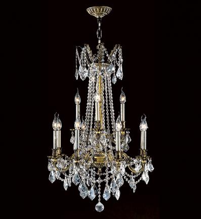 Worldwide Lighting - 83309B24 - Solid Brass Pendant