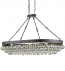 Currey & Company - 9888 - Balthazar Oval Ceiling Mount