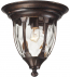 ELK Lighting - 45004/1 - Glendale Regal Bronze 11 Inch 1 Light Outdoor Flush Mount