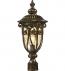 ELK Lighting - 45073/1 - Logansport Hazelnut Bronze 9 Inch 1 Light Outdoor Post Light