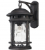 ELK Lighting - 45112/1 - Costa Mesa Weathered Charcoal 11 Inch 1 Light Outdoor Wall Lantern