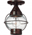Hinkley Lighting - 2203SZ - Cape Cod Incandescent Outdoor Flushmount