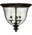 Hinkley Lighting - 3712FB - Rockford Forum Bronze 3 Light Flushmount