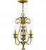 Hinkley Lighting - 4103BB - Plantation Burnished Brass 3 Light Chandelier