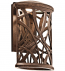 Kichler - 49249AGZLED - Maya Palm Aged Bronze 9.5 Inch Light Outdoor Wall Sconce