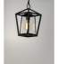 Maxim Lighting - 3179CLBK - Artisan Black 1 Light Outdoor Hanging Lantern