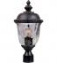 Maxim Lighting - 3426WGOB - Carriage House Oriental Bronze 19.5 Inch 1 Light Incandescent Outdoor Post Light