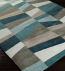 Surya - Cosmopolitan Geometric Layers Hand Tufted Rug