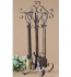 Uttermost - 20338 - Daymeion Metal Fireplace Tools (Set of 5)