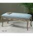 Uttermost - 23190 - Kylia Sky Blue Bench