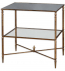 Uttermost - 26120 - Henzler Mirrored Glass Lamp Table