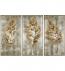 Uttermost - 35334 - Uttermost Champagne Leaves Modern Art (Set of 3)