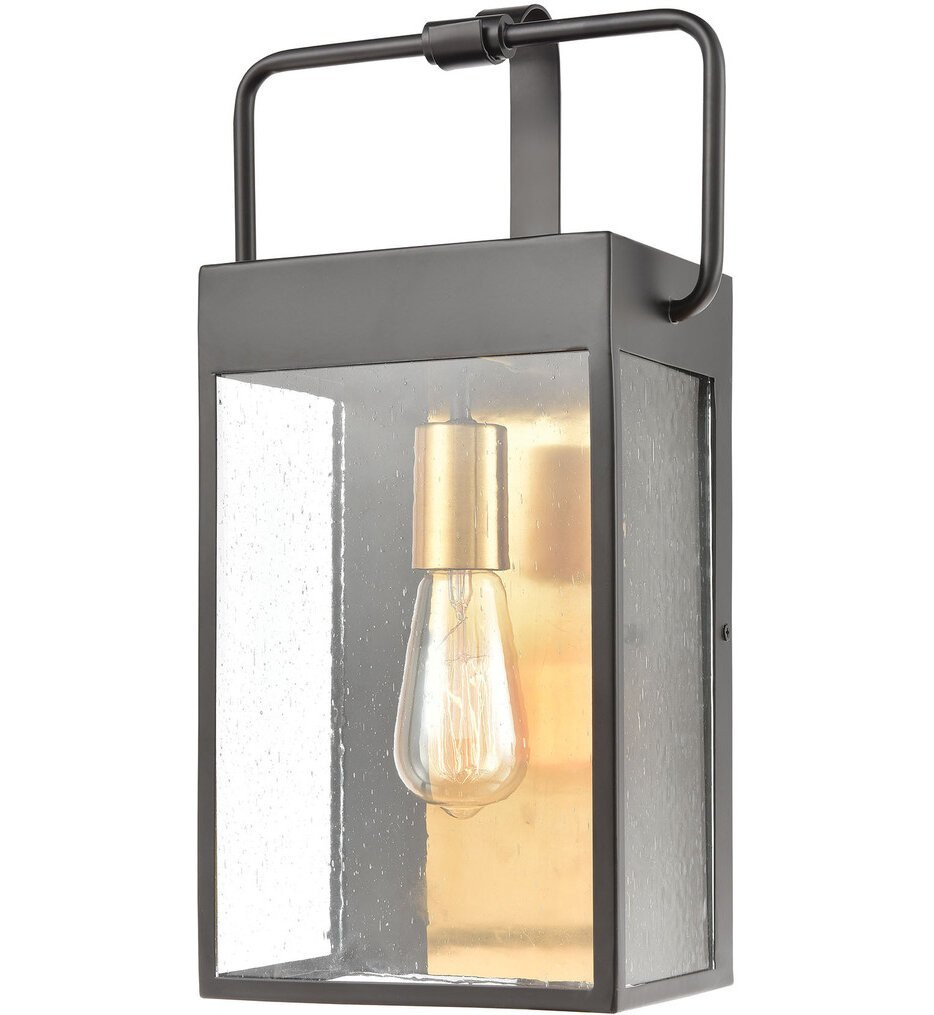 """ELK Lighting - 46682/1 - Knowlton 17"""" Outdoor Wall Sconce"""
