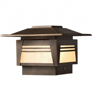 Kichler - 15071OZ - Zen Garden Olde Bronze 5 Inch 1 Light Deck Post Light