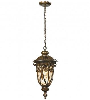ELK Lighting - 45074/1 - Logansport Hazelnut Bronze 20 Inch 1 Light Outdoor pendant