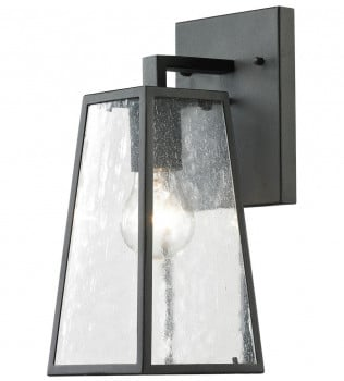 ELK Lighting - 45090/1 - Meditterano Charcoal 5 Inch 1 Light Outdoor Wall Sconce