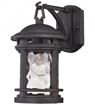 ELK Lighting - 45110/1 - Costa Mesa Weathered Charcoal 7 Inch 1 Light Outdoor Wall Lantern