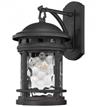 ELK Lighting - 45111/1 - Costa Mesa Weathered Charcoal 9 Inch 1 Light Outdoor Wall Lantern