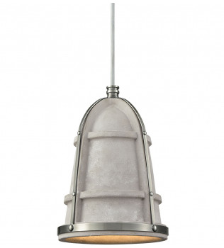 ELK Lighting - 45335/1 - Urban Form Black Nickel 7 Inch 1 Light Pendant